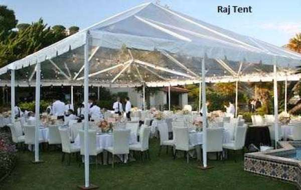 Colorful Wedding Tent in Various Designs and Patterns