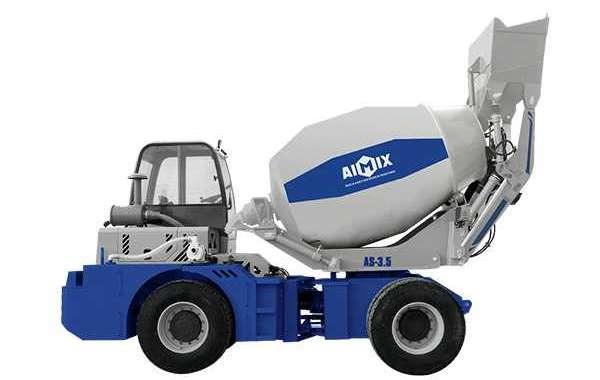 Advantages of Choosing a Self-Loading Concrete Mixer