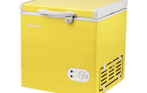 Mini Car Freezer is powered by propane burners