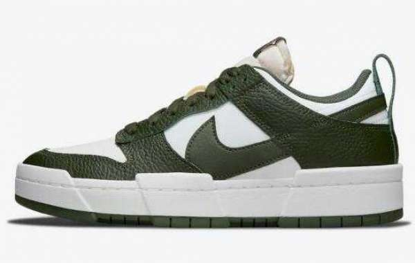 Nike Dunk Low Disrupt New Release the Dark Green Colorway