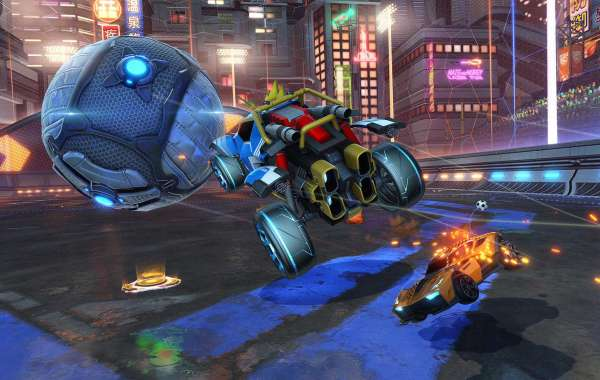 Rocket League Credits North America and Europe