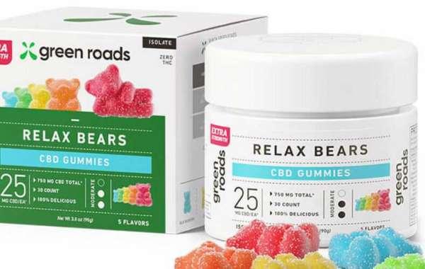 Green Roads CBD Gummies 100% Natural Pain Relief Formula