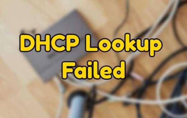 Fixed: DHCP Lookup Failed on Chromebook