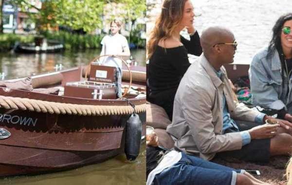 Huur een boot in Amsterdam