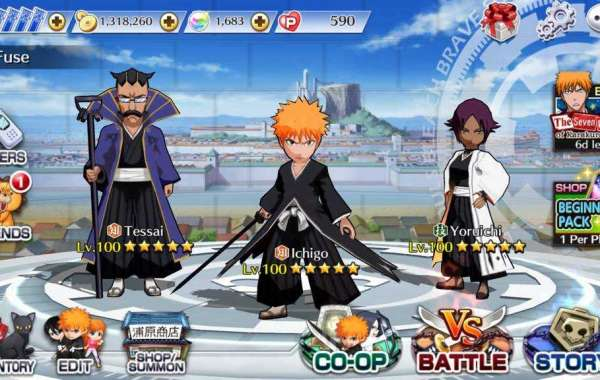 Download game BLEACH Brave Souls Mod Apk for Android